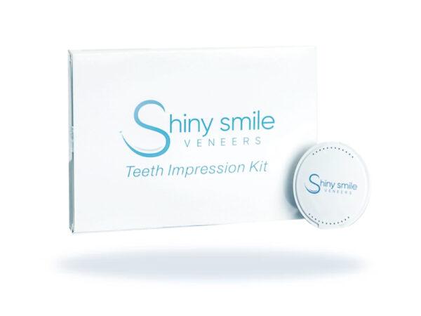 Shiny Smile snap on veneers packaging